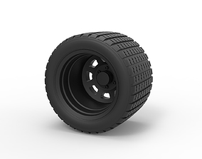 Diecast Offroad wheel 26 3D print model