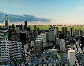 E001-Hanhart-Urban Building Allocation Citycape 3D model