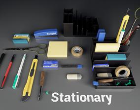 Post Soviet Stationary UE4 office 3D model