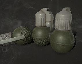 3D asset Gregade RGO and RGN