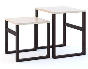 Ikea Nesting Tables 3D model