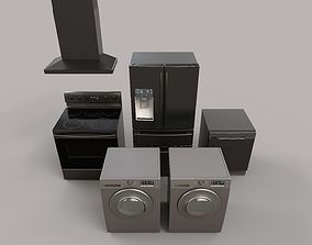Modern Appliances 3D asset