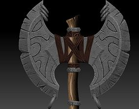 3D model Axe Stylized for Games Ar Vr GAME-READY