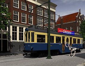 3D Boedapester or blue train