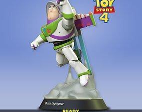 Buzz Lightyear statue 3D print model