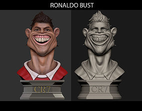 Ronaldo Football scupltures - Padory 3D printable model