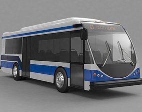 3D model Bus ElDorado National EZ Rider II