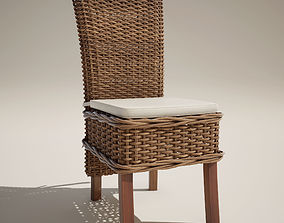 Vime Chair Nature 3D