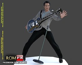 elvis ELVIS the King Figure Printable