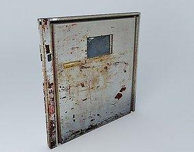 3D Resident Evil 4 Locked Metal Door