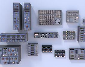 3D asset Modular Electronics Scenery Props Environment 2