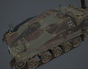 Wiesel 2 SP Mortar 120mm 3D asset