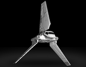 3D Star Wars Imperial Shuttle