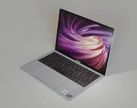 3D model Huawei Matebook D14 Laptop