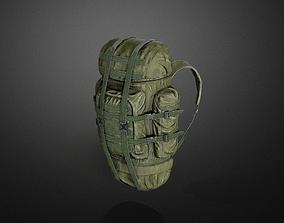 3D asset Backpack 01