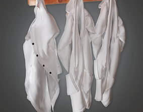 3D model CLA - Lab Coats - PBR Game Ready