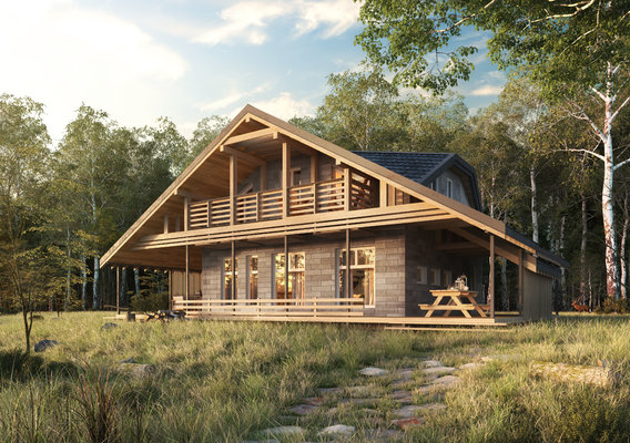 -----------------House in forest-----------------