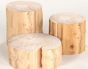 3 coffee table stump 3D