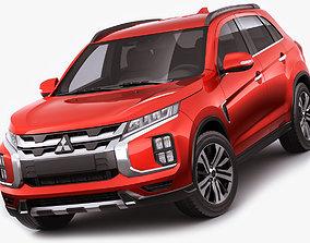 3D model Mitsubishi ASX 2020