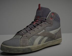 Worn Skater Shoe Low Poly 3D model low-poly