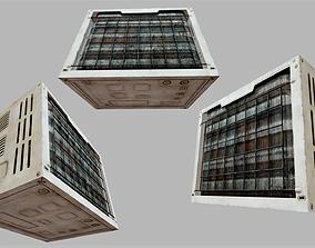 3D model Rusty Air Conditioner 01 PBR