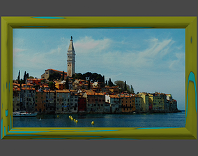 3D model Rovign North Harbor-Framed Picture