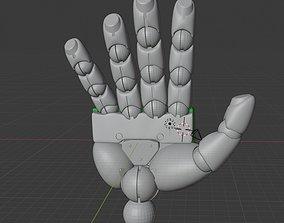 zeon-ms hand for MG 3D printable model