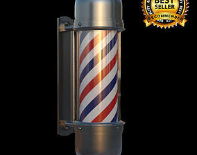 lighting 3D Barber pole