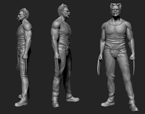 3D model Wolverine character