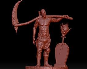 devil hunter 3D printable model