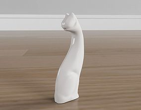 Cat sculpture 3D print model