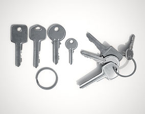 Set Of New Keys 3D