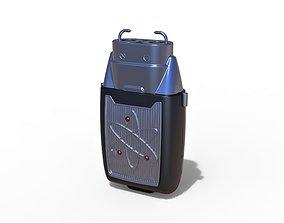 Stun gun from the movie Men in Black 3 3D printable model