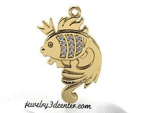 3D print model Pendant Goldfish