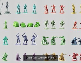 3D model Board game Bundle