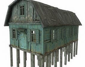 Old River House 3D asset