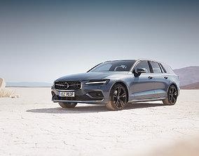 3D model swedish Modern Swedish luxury combi unbranded