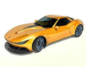 3D model 2013 Kukhri GT Concept Sports Car