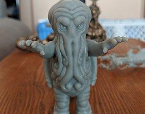 Little Cthulu 3D print model