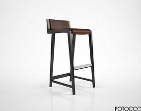 3D Potocco Linus stool
