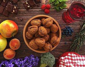 3D fruit Fruits