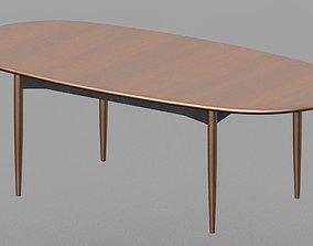 Parker Dining Table 3D print model