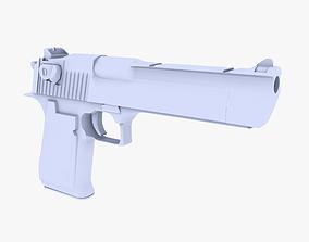 Desert Eagle Pistol 3D asset