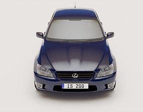 Lexus IS200 3D model