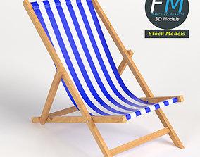 3D PBR Beach chair