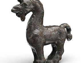Antique Horse Figure 3D print model