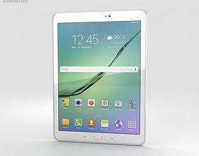 3D Samsung Galaxy Tab S2 9-7-inch White