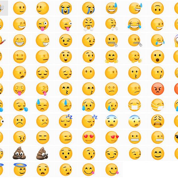 Emoji huge pack collection 59