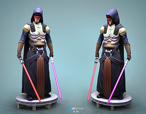 Darth Revan Star Wars 3D print model