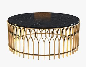 3D model Brabbu Mecca Round Coffee Table